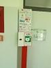 Übergabe Defibrillator in der Steinbachhalle - 15.10.2017