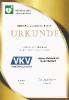 Urkunde Unterstützung Defibrillator Edeka-Frischemarkt - 03.06.2019
